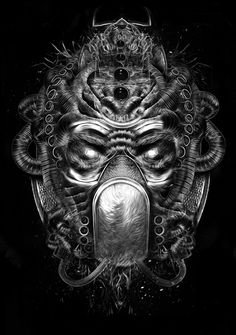 FANTASMAGORIK® COSMIK MASK EVOLUTION by obery nicolas, via Behance