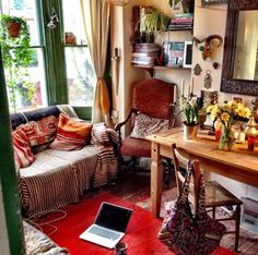 Moon to Moon: Eclectic Sitting Rooms....