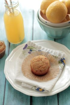 A delicious combo of spring ingredients make these lemon poppy seed muffins cake-like and super moist. Lemon poppy seed muffins are healthy.