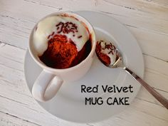 cocinaros: Red Velvet Mug Cake