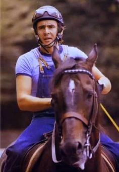 Visit djemf.com to help Davy's family continue his thoroughbred rescue work!
