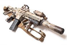 HK 416 DEVGRU AAC SPR SILENCER