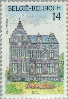 Stamp: Niel (Belgium) (Tourism) Mi:BE 2464,Sn:BE 1405,Yt:BE 2412,Sg:BE 3061,AFA:BE 2471,Bel:BE 2412