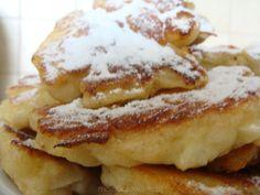 Racuchy drożdżowe z jabłkami YVETTE Polish Recipes, Polish Food, Confectionery, Creative Food, Crepes, Pancakes, French Toast, Favorite Recipes, Sweets