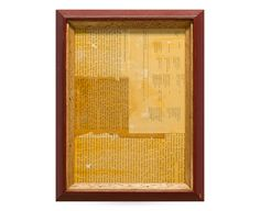 Frame No.121 -Wine Red × Light Stain-
