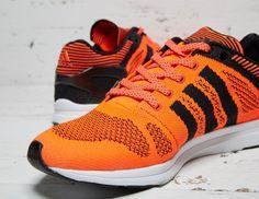 #adidas Adizero Feather Primeknit Orange Black #sneakers