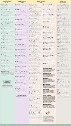 The Flying Cupcake Bakery-Menu, Pricing, Event Planning - Menu - Foodz - Best Cake Recipes Vegan Wedding Cake, Wedding Cake Flavors, Birthday Cake Flavors, Baking Business, Cake Business, Cupcake Bakery, Cupcake Cookies, Cupcake Shops, Cupcake Flavors