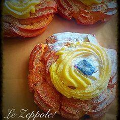 Signori e signore... Le #zeppole!! Ilpanedimatrice.com - Superlative  #foodporn #instafood #food #instafood #ciboitaliano #cibosano