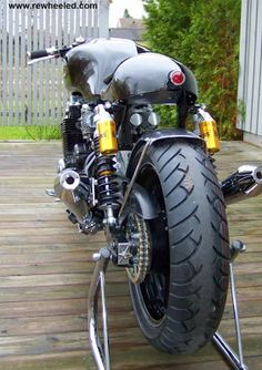 "Honda CB 750 ""New Old Stock"" by Rewheeled Motorcycles - Lsr Bikes"