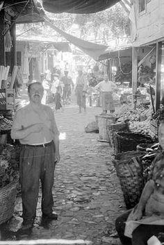 ✿ ❤ Bir zamanlar İzmir, Havra Sokağı, 1954