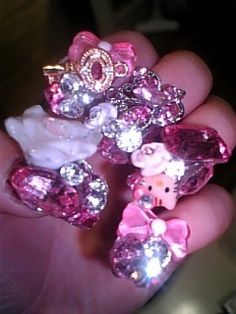 Japanese decoden nail arts
