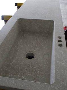 24 veces he visto estas radiantes cocinas de concreto. Concrete Kitchen, Concrete Cement, Concrete Furniture, Concrete Projects, Concrete Design, Polished Concrete, Modular Furniture, Kitchen Countertop Materials, Kitchen Countertops