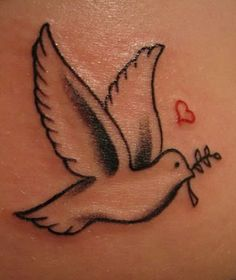 Dove tattoos are beautiful and mean a lot to me