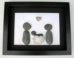Unique New Baby Gift and Personalized New Baby Gifts- Whimsical Shower Gift- Pebble Art on Etsy