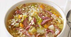Canning Granny: Soup of the Day... Corned Beef and Cabbage Soup