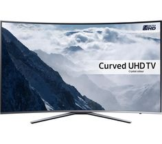 "65"" SAMSUNG UE65KU6500 Smart 4K Ultra HD HDR Curved LED TV"