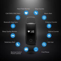 Superisparmio's Post Mpow FitBand  Braccialetto Smart Mpow Bluetooth 4.0 Tracker attività con Pedometro / Sensore per Battito Cardiaco/ Monitoraggio Sonno/ Monitoraggio Calorie / Activity Tracker e altro...  Oggi in offerta lampo a solo 22.94   http://ift.tt/2tZuTYt