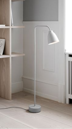 The Caravaggio Read Floor Lamp is the latest addition to the iconic Caravaggio series designed by Cecilie Manz for Lightyears.