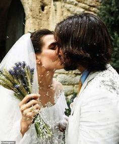 Grace Kelly's granddaughter Charlotte Casiraghi of Monaco celebrates second wedding Charlotte Casiraghi, Wedding Groom, Wedding Couples, Wedding Attire, Wedding Ceremony, Wedding Rustic, Wedding Dresses, Wedding Bells, Royal Brides