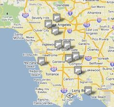 Mapping Rap Lyrics in L.A.