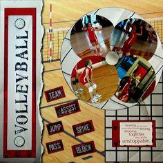 Marla-Volleyball 05 - Scrapbook.com