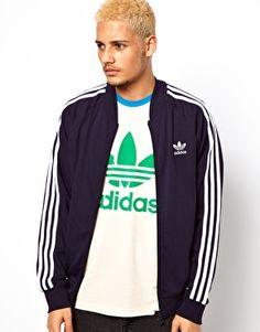 Adidas Originals Superstar Track Jacket #3stripeoriginals 3stripeoriginals.blogspot.com