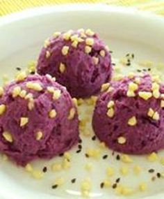 Yuk ber-vegetarian menggunakan bahan ubi ungu