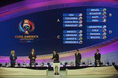 Brasil se dá bem e enfrentará Equador, Haiti e Peru na Copa América 2016 #globoesporte