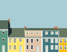 "Check out new work on my @Behance portfolio: ""Houses"" http://be.net/gallery/49451571/Houses"