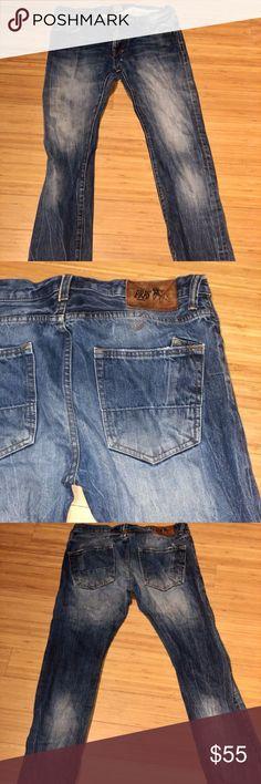 PRPS Rambler Japanese Selvedge Denim Men/'s Slim Fit Jeans $200 NEW 32x32