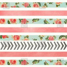 Allyson Johnson Floral Stripes And Arrows Square Tray | DENY Designs Home…