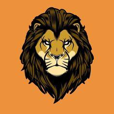 Lion Art Old Dirty Dermot