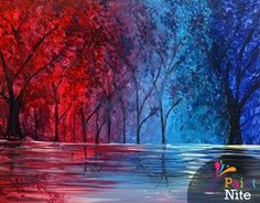 Paint Nite Chicago | Luigi\'s House 04/26/2015