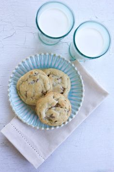 Tried and True Chocolate Chip Cookies are the very best chocolate chip cookie recipe! No more flat cookies. Perfect cookies every single time.