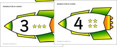 The numerals presented on rockets. These are great for use in classroom displays and number lines, or can be laminated for ordering activities. Sistema Solar, New Classroom, Classroom Displays, Kid Spaces, Space Kids, Space Theme, Outer Space, Number Lines, Cosmos