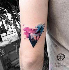 watercolor tattoos 2017