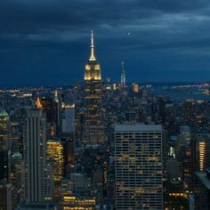Top of the Rock, New York City, New York - Empire State of mind. ...