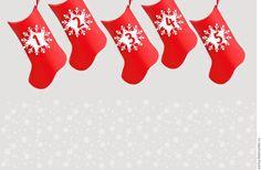 """Купить """"Новогодний носок"""" упаковка для адвент календаря - упаковка, носки, новогодний интерьер, упаковка для подарка"""
