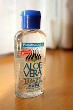 How to Use Aloe Vera Gel as a Makeup Primer ~ should try this