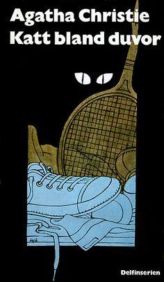 Katt bland duvor, Agatha Christie's Cat Among the Pigeons, illustration by Per Åhlin
