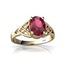 14K Yellow Gold Oval Genuine Pink Tourmaline Celtic Trinity Ring Size 7.5 Jewels For Me,http://www.amazon.com/dp/B0034C7JGY/ref=cm_sw_r_pi_dp_Ev1Zrb0XK84GJDTF