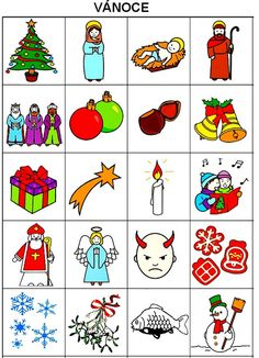 Pro Štípu: Komunikační obrázky Christmas Activities For Toddlers, Preschool Activities, Toddler Christmas, Look Younger, Feeling Overwhelmed, Used Books, Winter Time, Feeling Great, Montessori