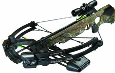 Barnett Ghost 350 CRT Crossbow Package (Quiver, 3 – 20-Inch Arrows and Illuminated 3x32mm Scope)