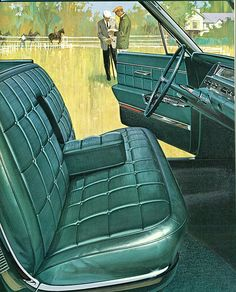 1963 Oldsmobile Ninety-Eight 4 Door Hardtop Interior Front Seat