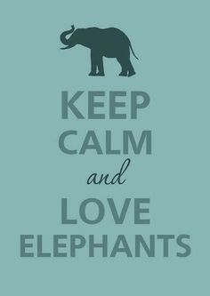 Elephants are the best animals.  It's not even an opinion, it's a fact! Yay elephants!