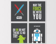 Shapely Popular Items For Star Wars Wall Art On Etsy Bedroom Quote