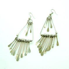 Long Dangling Boho Earrings - Lanie Lynn Vintage Jewelry