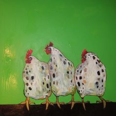 3 French hens ..