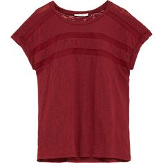 T-shirt, Mesh Tape Tee - Costes