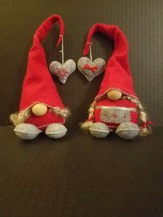 Gnome children, felt and sheep wool #tomtebarn